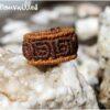 Bague maya macramé