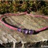 Bracelet simplicité améthyste lilas