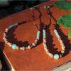 Bracelets pierres et graines aventurine verte