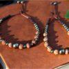 Bracelet pierres et graines pyrite