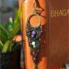 coffret 7 chakras macrame pierre marque-page et bracelet