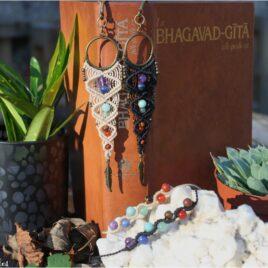 """Coffret """"7 chakras"""" Marque-page et bracelets"""